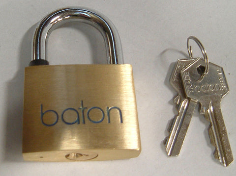 50mm Brass Security Padlock