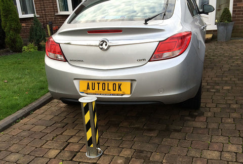 Autolok Telescopic Anti Ram Raid Post
