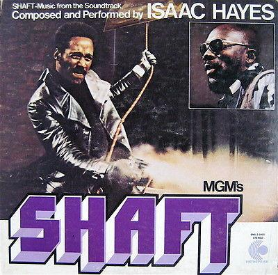 Isaac Hayes Shaft Vinyl Double LP