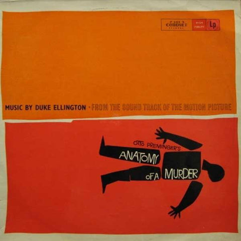 Duke Ellington And His Orchestra Anatomy Of A Murder (Soundtrack) Vinyl LP