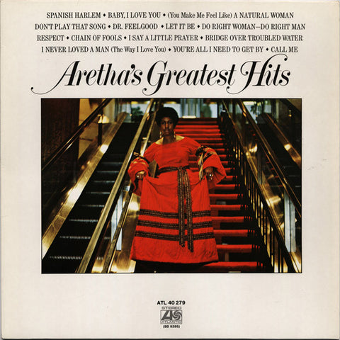 Aretha Franklin Aretha's Greatest Hits Vinyl LP