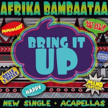 Afrika Bambaataa Bring It Up Vinyl 12""