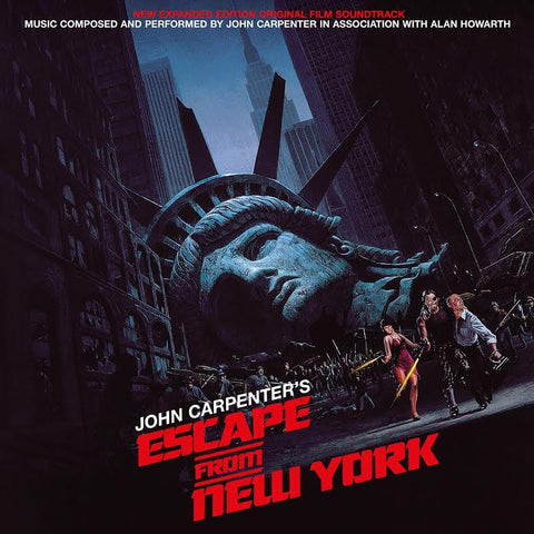 John Carpenter Escape From New York Soundtrack Vinyl Double LP