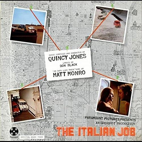 Quincy Jones ‎The Italian Job Soundtrack Vinyl LP