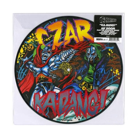 "Czarface Featuring MF Doom Ka-Bang! Vinyl 10"" Picture Disc"