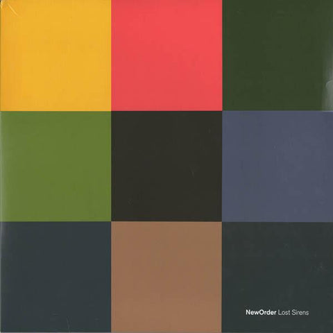 New Order Lost Sirens Vinyl LP