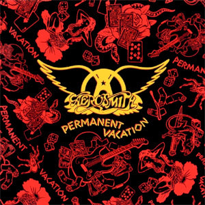 Aerosmith Permanent Vacation Vinyl LP