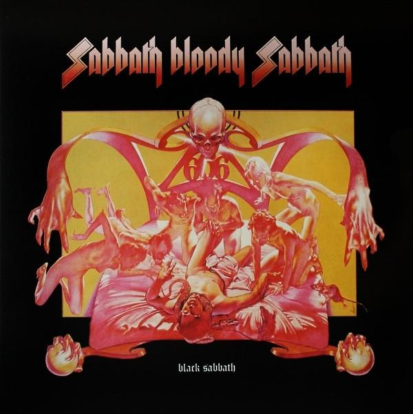 Black Sabbath ‎Sabbath Bloody Sabbath Vinyl LP+CD