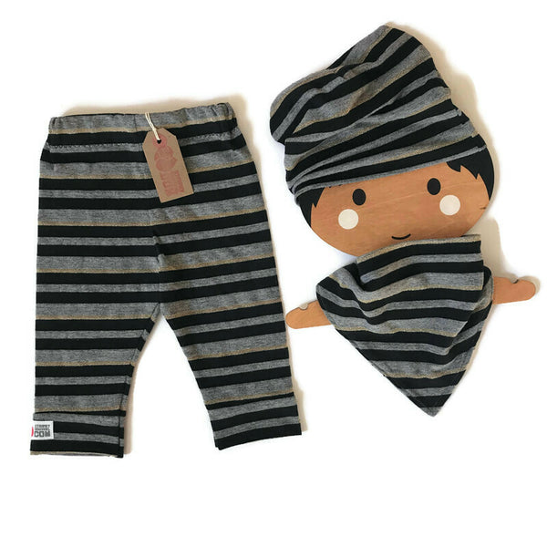 Glittery Stripes Gift Set. 6-12mths+