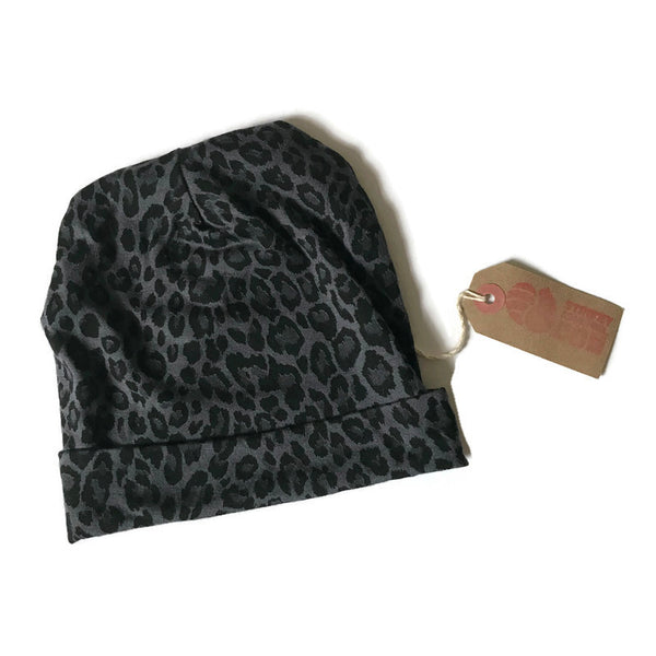 Animal Print. Baby Beanie 6mths+  *GIFT SET AVAILABLE*