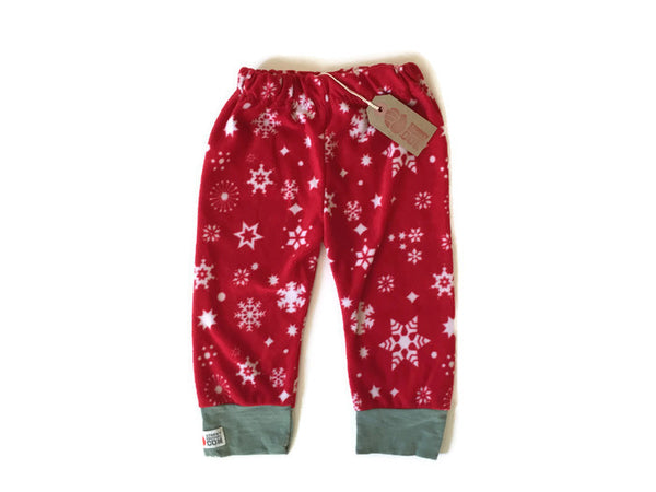 Snowflake Leggings. 12-18 mths.