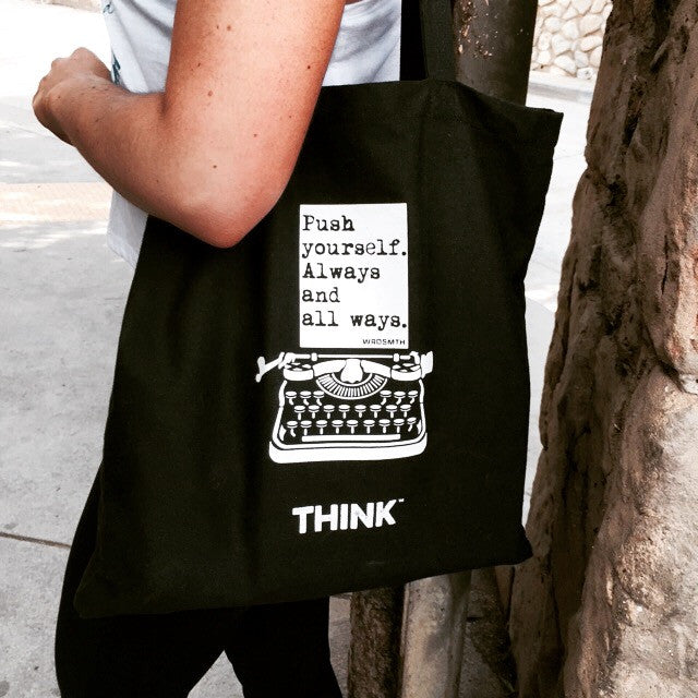 THINK x WRDSMTH ALL WAYS TOTE