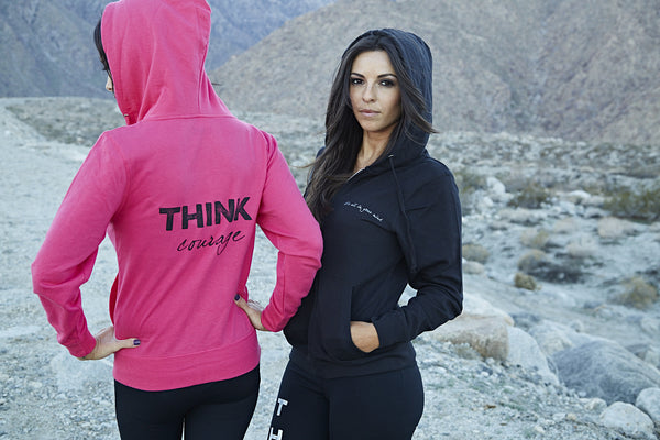 THINK Courage Hoodie