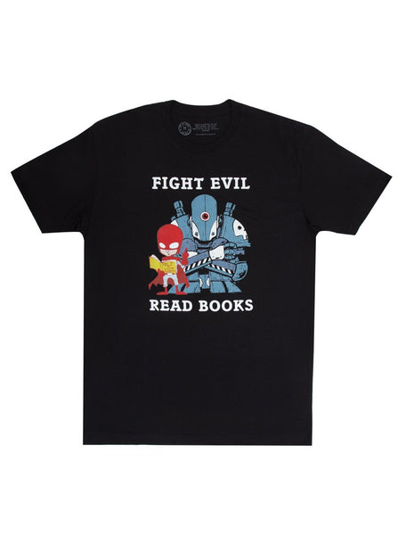 Fight Evil, Read Books Unisex T-Shirt (2018)