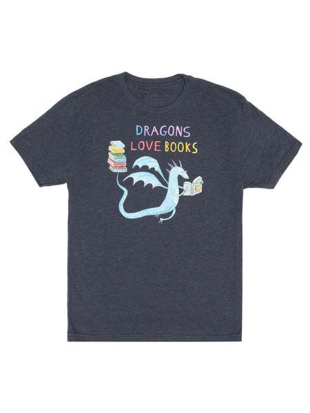 Dragons Love Books Unisex T-shirt