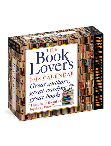 Book Lover's Page-A-Day 2018 Calendar