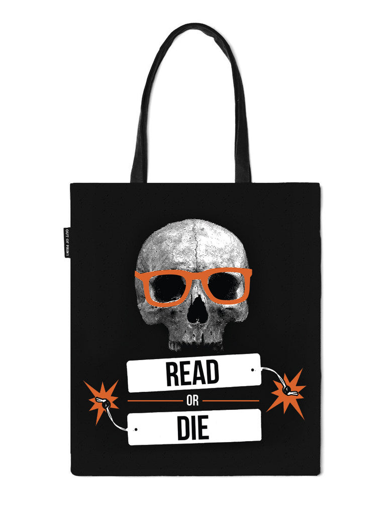 Read or Die Tote Bag