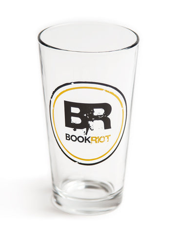 Book Riot Pint Glass
