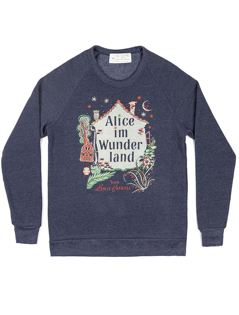 Alice in Wonderland: German Edition sweatshirt (new)
