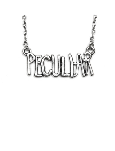 Miss Peregrine's Peculiar Book Necklace