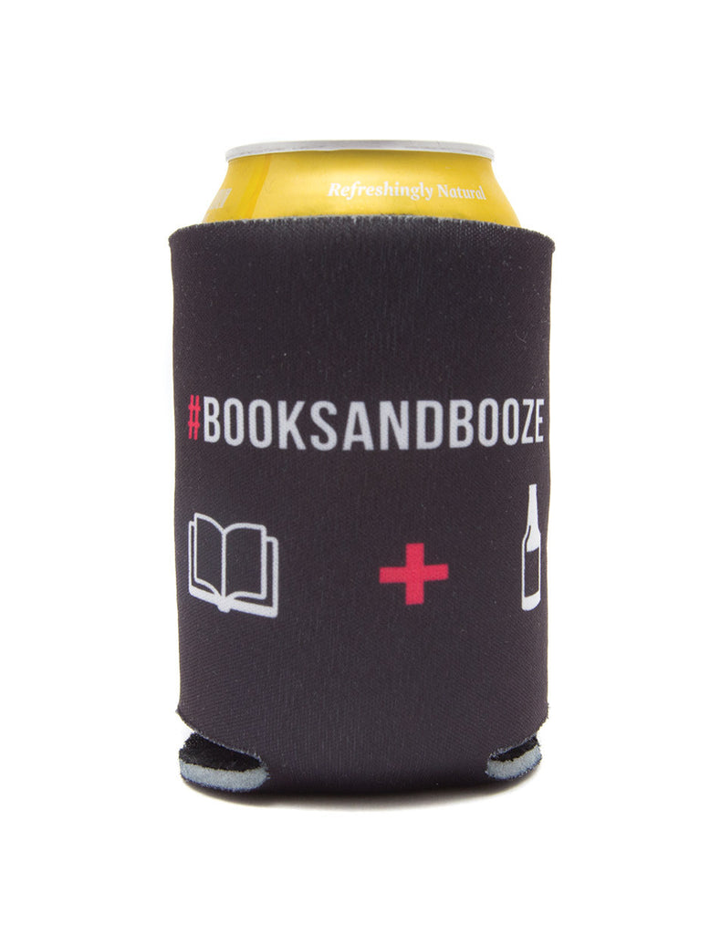 Books and Booze koozie