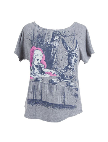 Alice in Wonderland Women's T-Shirt (Dolman)