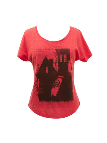 The Haunting of Hill House: Penguin Horror Women's Relaxed Fit T-Shirt