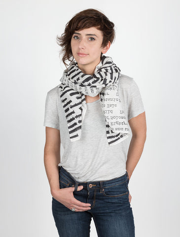 Lightweight Banned Books Scarf