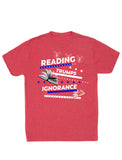 Reading Trumps Ignorance (Unisex Crew)