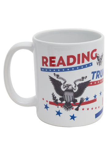 Reading Trumps Ignorance Mug