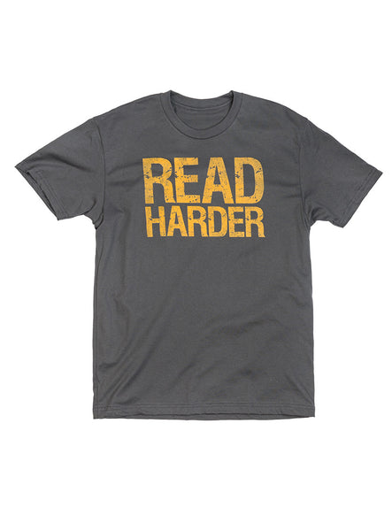 Read Harder: Unisex Crew Neck T-Shirt
