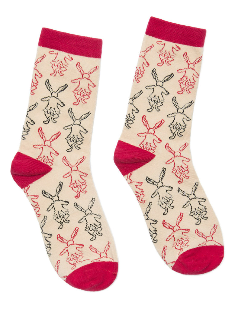 Alice in Wonderland Socks