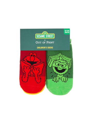 Sesame Street Baby/Toddler Sock 4-pack