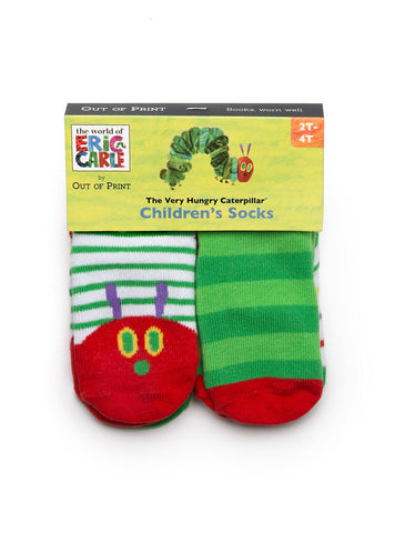 World of Eric Carle The Very Hungry Caterpillar Toddler Sock 4-Pack
