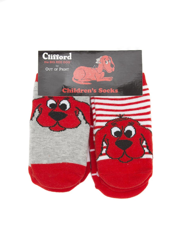 Clifford the Big Red Dog Baby/Toddler Sock 4-pack