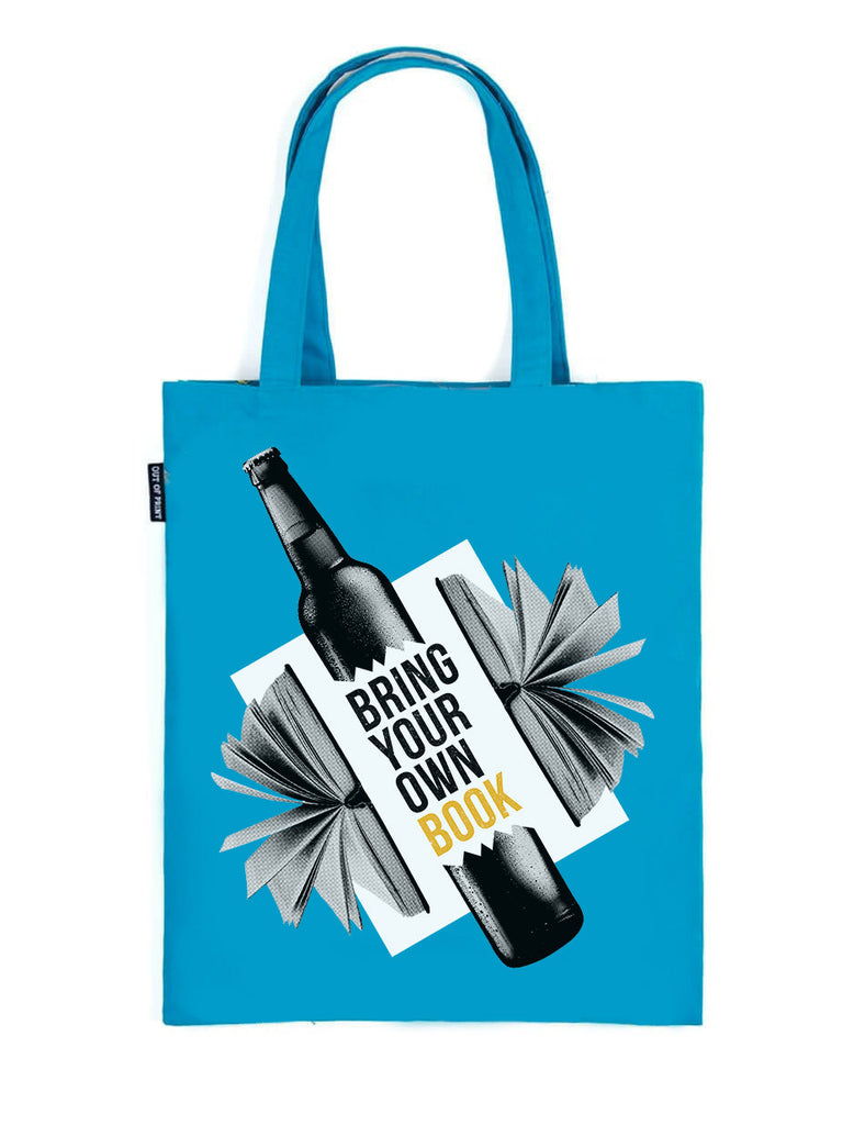 Bring Your Own Books tote bag