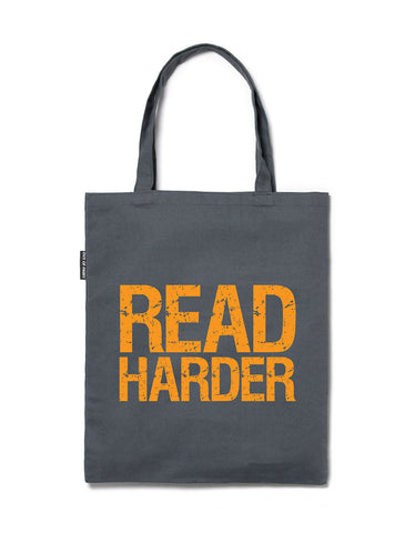 Read Harder tote bag