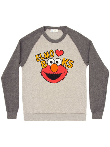 Elmo Loves Books unisex sweatshirt
