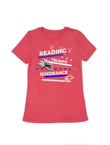 Reading Trumps Ignorance (Women's Crew)
