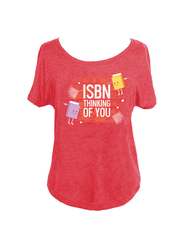 ISBN Thinking of You Women's Relaxed Fit T-Shirt