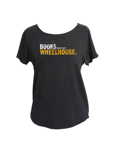 Books Are In My Wheelhouse (Women's Dolman)