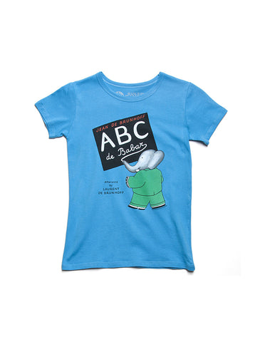 Kids' ABC de Babar T-Shirt