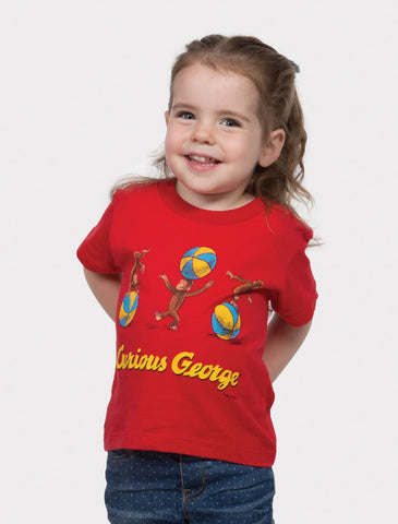 Kids' Curious George - Red T-Shirt