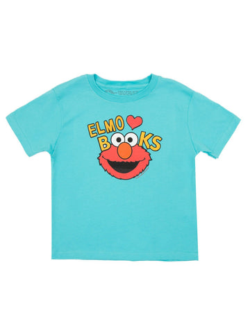 Kids' Elmo Loves Books T-Shirt