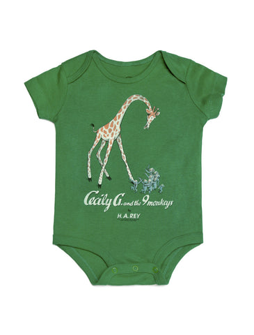 Baby Cecily G and the 9 Monkeys bodysuit