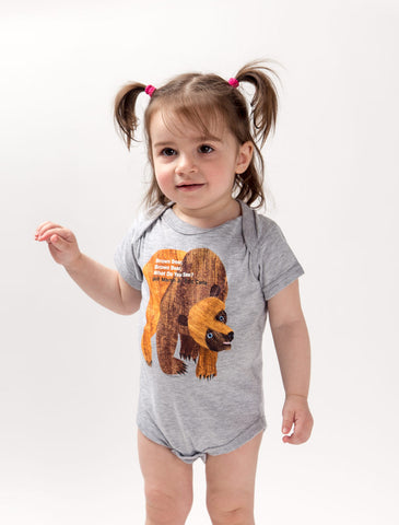 World of Eric Carle Baby Brown Bear, Brown Bear, What Do You See? bodysuit