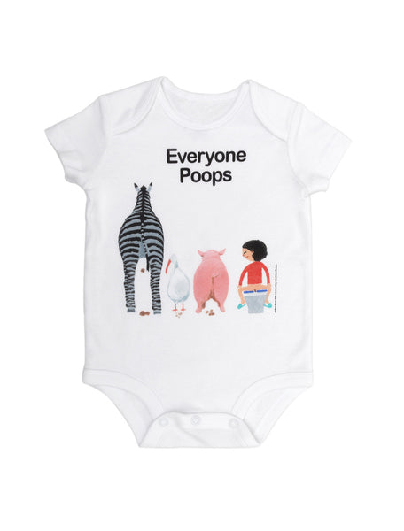 Everyone Poops Baby Bodysuit