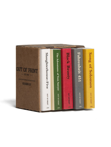 Banned Books Matchbook Set