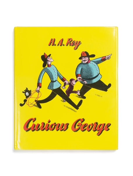 Curious George board book