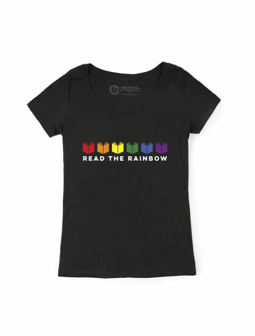 Read the Rainbow T-Shirt (Women's Scoop)